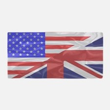 Cute Irish american Beach Towel