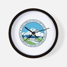 Unique Confederate great seal Wall Clock