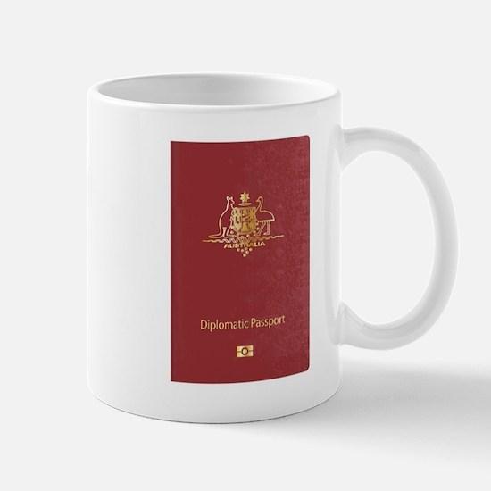 Australian Diplomatic Passport Mugs