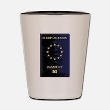 European Union Passport Shot Glass