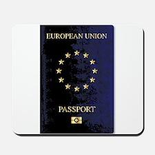 European Union Passport Mousepad