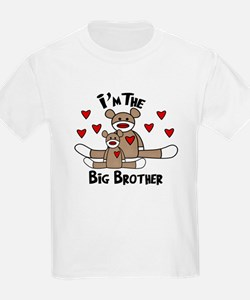 I'm The Big Brother SOCK MONK T-Shirt