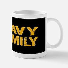 U.S. Navy: Navy Family (Black) Mug