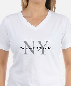 New York thru NY Ash Grey T-Shirt