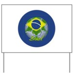 Futebol Brasileiro Yard Sign