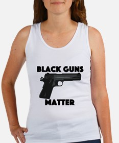 Black guns Matter 2 Women's Tank Top