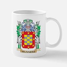 Velazquez Coat of Arms - Family Crest Mugs