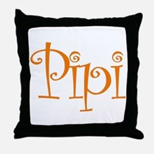 Pipi Throw Pillow