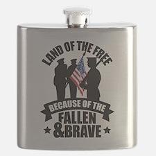 Fallen & Brave Flask