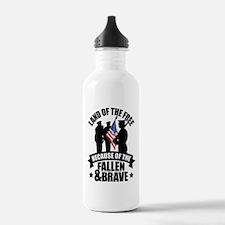 Fallen & Brave Water Bottle