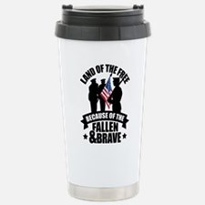 Fallen & Brave Stainless Steel Travel Mug