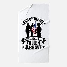 Fallen & Brave Beach Towel
