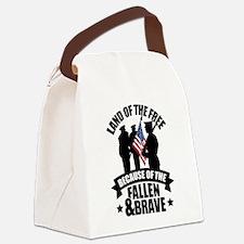 Fallen & Brave Canvas Lunch Bag