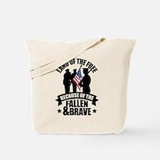 Fallen & Brave Tote Bag