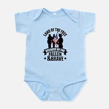 Fallen & Brave Infant Bodysuit