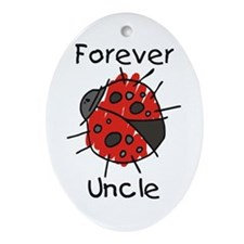 Forever Uncle Oval Ornament