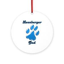 Leonberger Dad3 Ornament (Round)