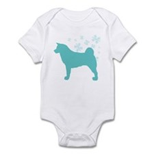 Akita Snowflake Infant Bodysuit