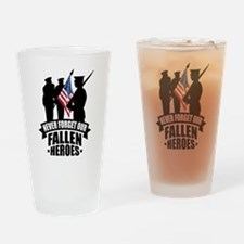 Never Forget Fallen Drinking Glass