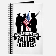 Never Forget Fallen Journal