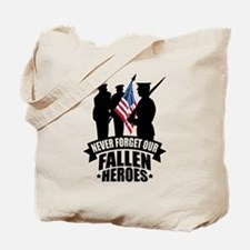 Never Forget Fallen Tote Bag