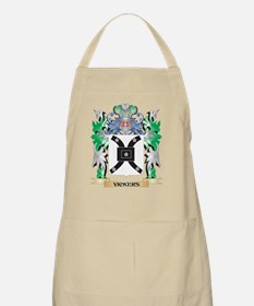 Vickers Coat of Arms - Family Crest Apron