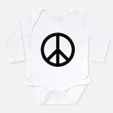 Peace Out Long Sleeve Infant Bodysuit