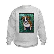 Boxer Puppy That Look Sweatshirt