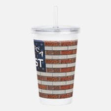 America First Acrylic Double-wall Tumbler