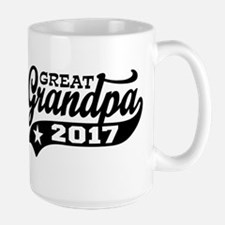 Great Grandpa 2017 Large Mug