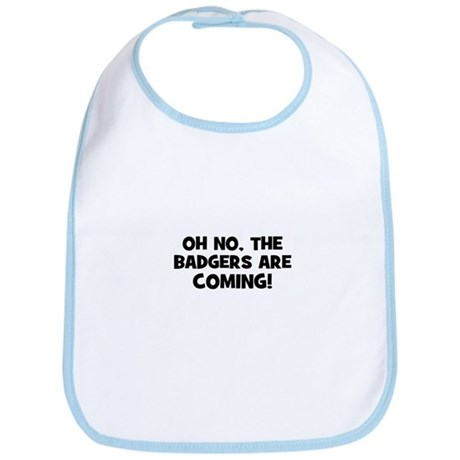 Oh no, the badgers are coming Bib