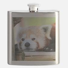 Funny Red panda Flask