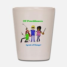 Cute Occupational therapy Shot Glass