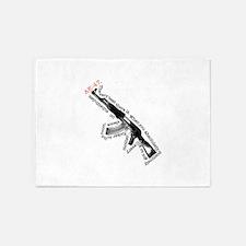 AK-47 5'x7'Area Rug