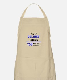 It's a CELINES thing, you wouldn't understan Apron