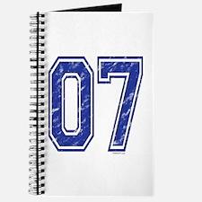 07 Jersey Year Journal