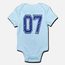 07 Jersey Year Infant Bodysuit