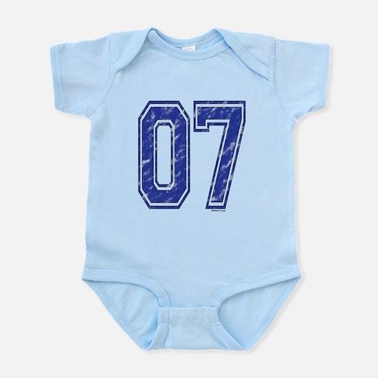 07 Jersey Year Infant Bodysuit