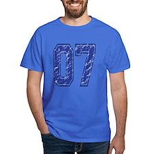 07 Jersey Year T-Shirt
