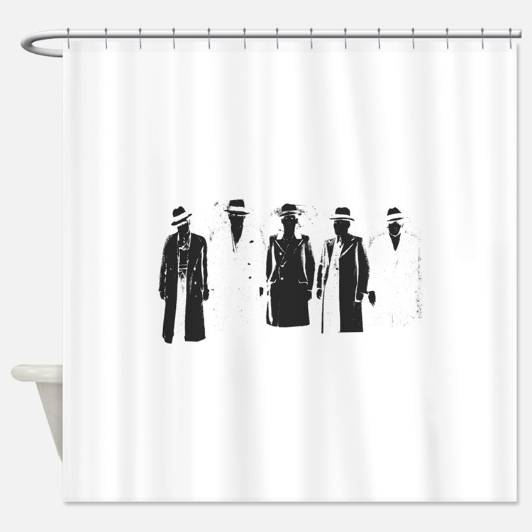 Original Gangsters Shower Curtain