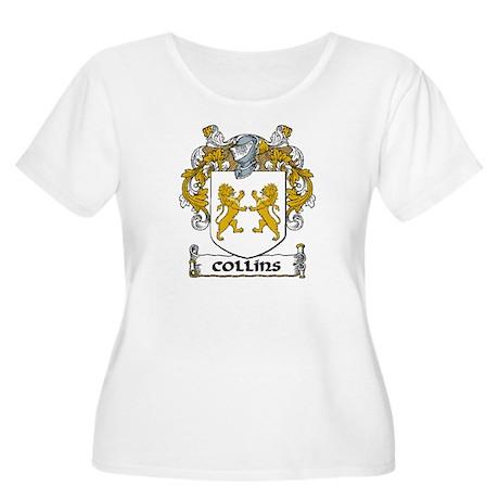 Collins Coat of Arms Women's Plus Size Scoop Neck