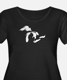 Great Lakes Plus Size T-Shirt