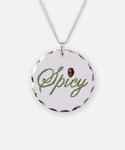 Spicy Pepper Ainsley Necklace Circle Charm