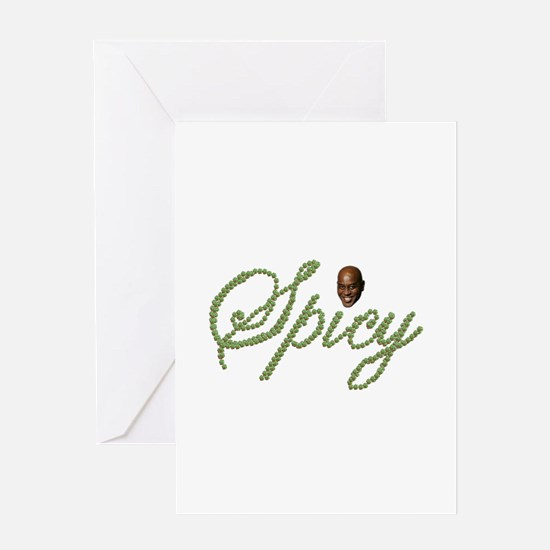 Spicy Pepper Ainsley Greeting Cards