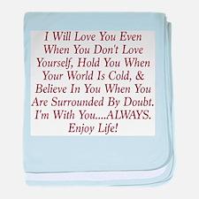 ALWAYS Enjoy Life! baby blanket