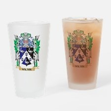 Walton Coat of Arms - Family Crest Drinking Glass