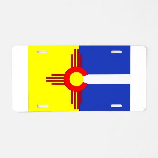 NM/CO Aluminum License Plate