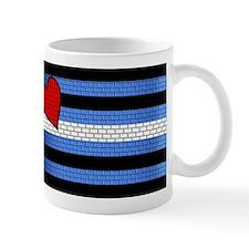 BRICK LEATHER PRIDE FLAG Mug
