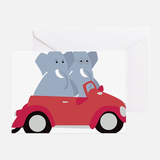 Funny Beetle Greeting Card