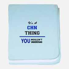 It's a CHN thing, you wouldn't unders baby blanket